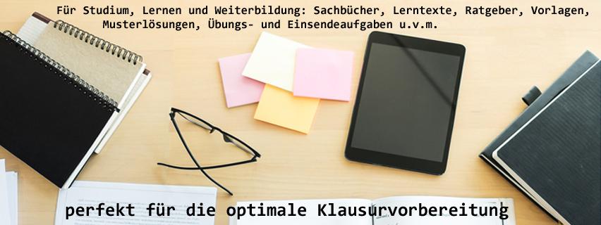 Markplatz für digitale Werke rund um das Studium, Lehre und Weit