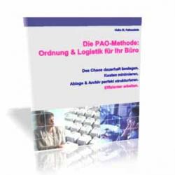 Die PAO-Methode: Ordnung & Logistik für Ihr Büro