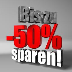 BIS ZU 50% SPAREN BEIM NEUWAGEN