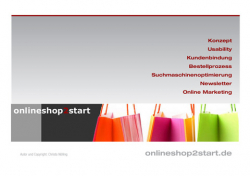 onlineshop2start - Erfolg im E-Commerce