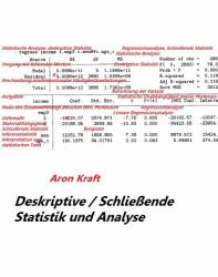 Deskriptive / Schließende Statistik und Analyse