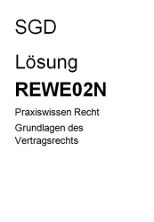 REWE02N des Kurses geprf. Immobilienmakler