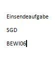 BEWI06 Betriebsorganisation u. statistik Einsendeaufgabe SGD