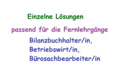 ESA Lösungen / Lernhilfe / Mustervorlage zu KSB05 - Note 1,0