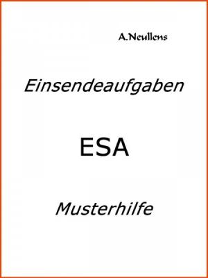 ILS - SGD - Einsendeaufgabe ESA - VBDN10D-XX1-N01