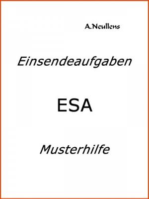ILS - SGD - Einsendeaufgabe ESA - VBDN 6D-XX1-N01 Note 1.0