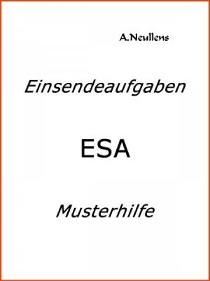 ILS - SGD - Einsendeaufgabe ESA - ORG 02-XX2-A15 Note 1.0