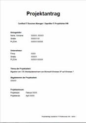 IHK Projektantrag - Operative Professional