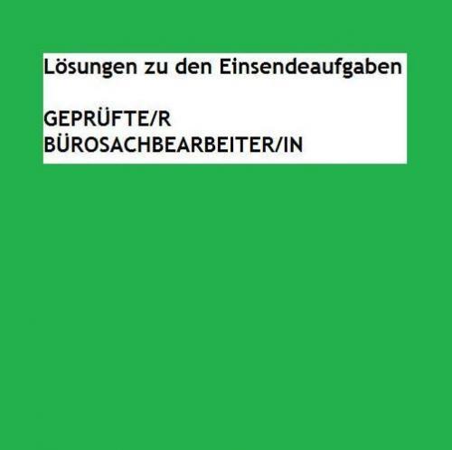 ESA TKÖ01 - Lösungen | Note: 1 (2016)