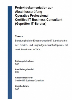 Projektarbeit - Operative Professional Note 1,4