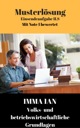 Lösung für Einsendeaufgaben IMMA 1BN - XX1-A03 Note 1