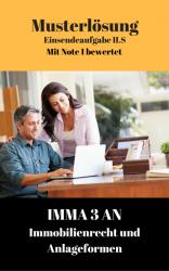 Lösung für Einsendeaufgaben IMMA 3AN-XX1-K06 Note 1