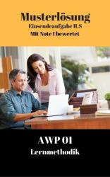 Lösung für Einsendeaufgaben AWP 01 - XX2-A04 Note 1