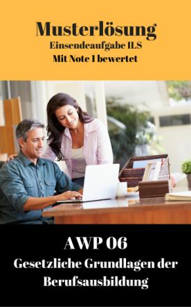 Lösung für Einsendeaufgaben AWP 6 - XX2-A05 Note 1