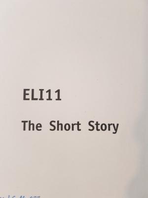 SGD Einsendeaufgabe ELI11 Englisch Note 2,3