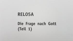 SGD Einsendeaufgabe REL05A Religion Note 1,0