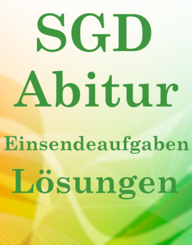 SGD Abitur Lösungsaufgabene LAG02 XX1