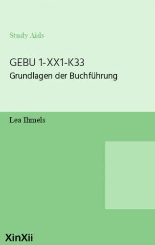 GEBU 1-XX1-K33