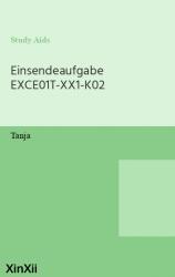 Einsendeaufgabe EXCE01T-XX1-K02