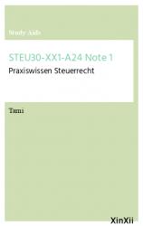 STEU30-XX1-A24 Note 1