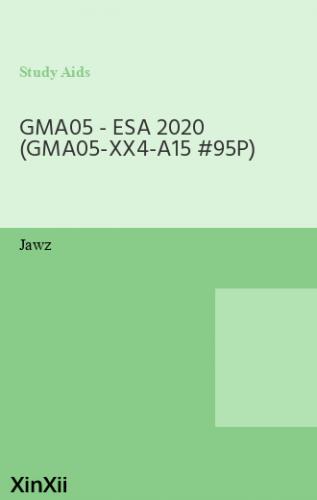 GMA05 - ESA 2020 (GMA05-XX4-A15 #95P)