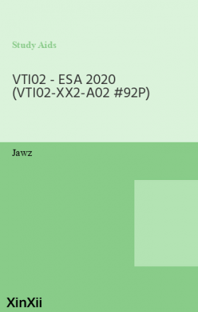 VTI02 - ESA 2020 (VTI02-XX2-A02 #92P)