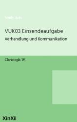 VUK03 Einsendeaufgabe