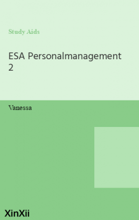ESA Personalmanagement 2