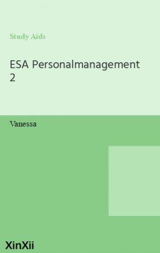 ESA Personalmanagement 2