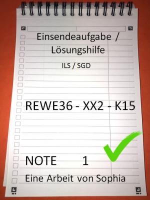 REWE36 // Rewe 36 // Note 1 // REWE36 - XX2 - K15