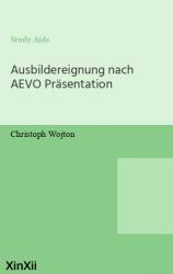 Ausbildereignung nach AEVO Präsentation