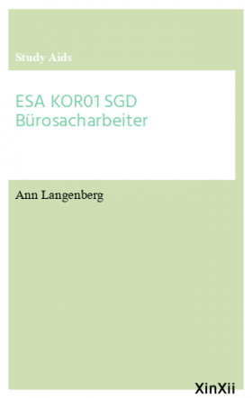 ESA KOR01 SGD Bürosacharbeiter