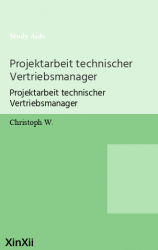 Projektarbeit technischer Vertriebsmanager