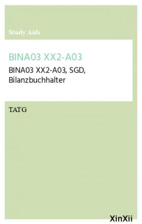 BINA03 XX2-A03