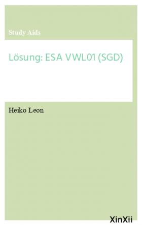 Lösung: ESA VWL01 (SGD)