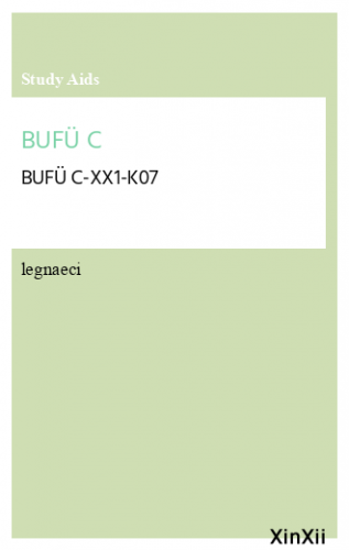BUFÜ C