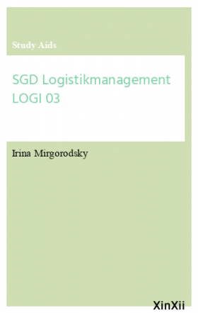 SGD Logistikmanagement LOGI 03