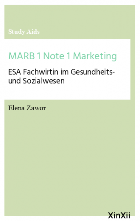 MARB 1 Note 1 Marketing