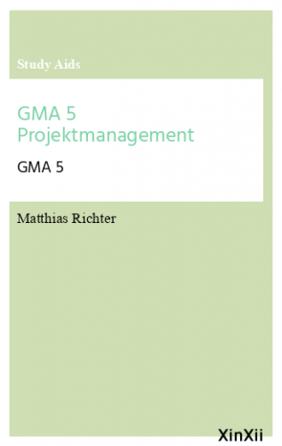 GMA 5 Projektmanagement