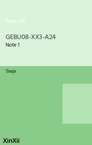 GEBU08-XX3-A24
