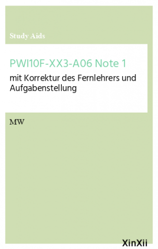 PWI10F-XX3-A06 Note 1