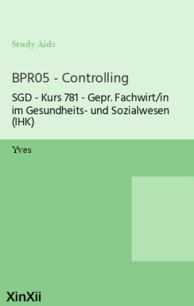 BPR05 - Controlling