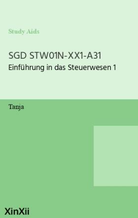 SGD STW01N-XX1-A31