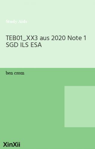 TEB01_XX3 aus 2020 Note 1 SGD ILS ESA