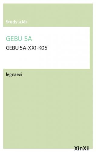 GEBU 5A