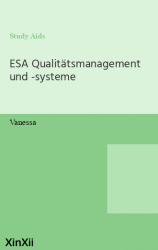 ESA Qualitätsmanagement und -systeme