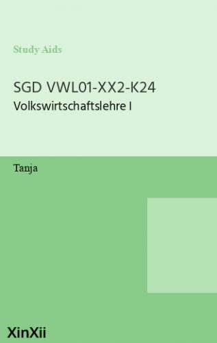SGD VWL01-XX2-K24