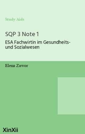 SQP 3 Note 1