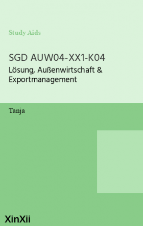 SGD AUW04-XX1-K04