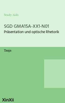 SGD GMA15A-XX1-N01